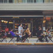 Outdoor Dining Restaurant Bar Waiter Al Fresco
